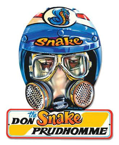 Don the Snake Prudhomme Decal - | Nostalgia Decals Online retro car decals, old school vinyl stickers for cars, racing graphics for cars, car decals for girls