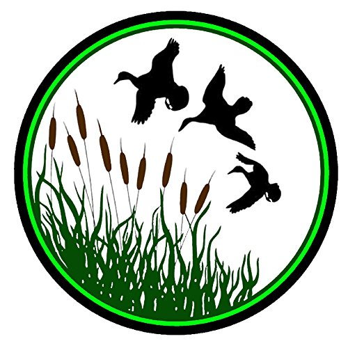 Duck Hunting Decal - | Nostalgia Decals Online retro car decals, old school vinyl stickers for cars, racing graphics for cars, car decals for girls