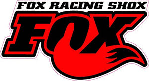 Fox Racing Shox Red Tall Decal- | Nostalgia Decals Online window stickers for cars and trucks, die cut vinyl decals, vinyl graphics for car windows, vinyl wall decor stickers