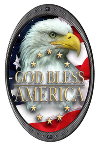 God Bless America Decal- | Nostalgia Decals Online decal stickers for your car, patriotic vinyl graphics, american flag window stickers, eagle decals