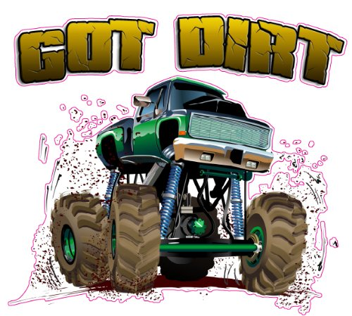 Got Dirt Decal Version 2 - | Nostalgia Decals Online retro car decals, old school vinyl stickers for cars, racing graphics for cars, car decals for girls