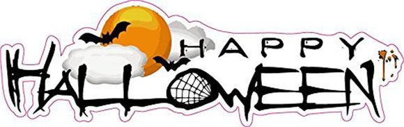 Happy Halloween Version 2 Wall or Window Decor Decal - 12
