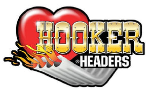"Hooker Headers Pipes Decal - 5"" x 3"" 