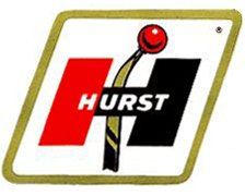 Hurst Shifters Old Decal - | Nostalgia Decals Online retro car decals, old school vinyl stickers for cars, racing graphics for cars, car decals for girls