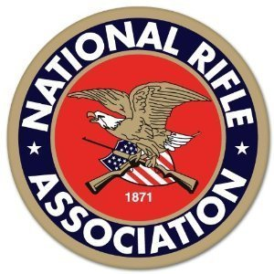 "NRA Guns and Rifles Sticker Decal - 3"" x 3"" 