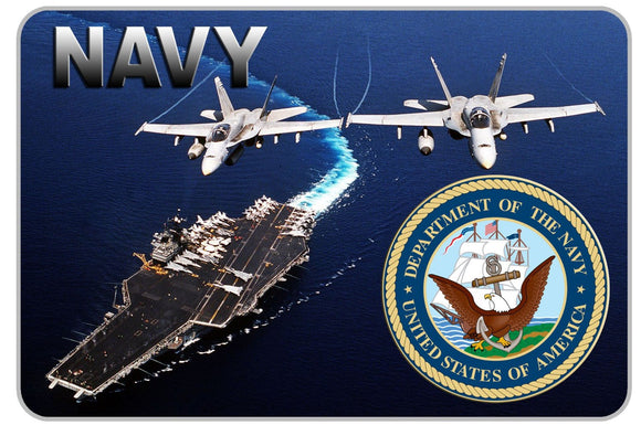 Navy Carrier Decal - 6