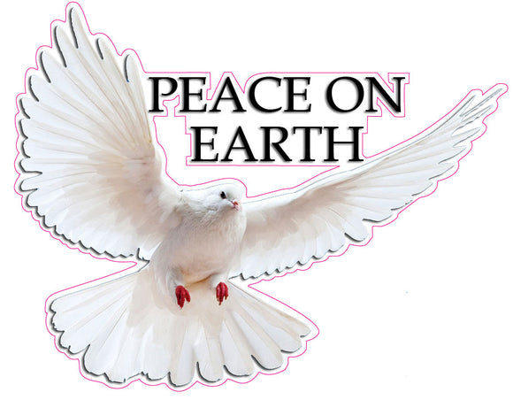 Peace on Earth Decal - 12