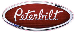 "Peterbilt Badge Decal - 5"" x 2.5"" 