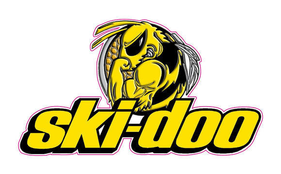 Ski-Doo Bee Decal - | Nostalgia Decals Online vinyl graphics for snowmobiles, vinyl snowmobile stickers, die cut vinyl jetski graphics