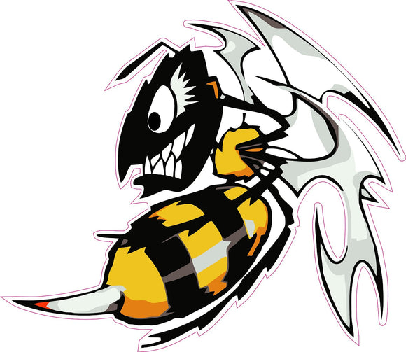 Ski Doo Killer Bee Decal - 5