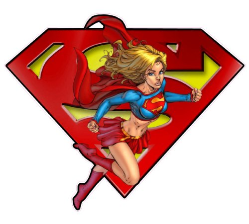 Super Woman Decal - | Nostalgia Decals Online retro car decals, old school vinyl stickers for cars, racing graphics for cars, car decals for girls