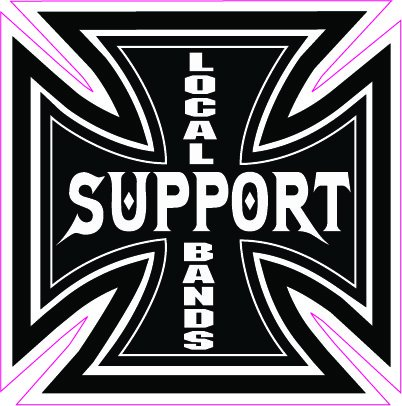 Support Your Local Bands Decal - 5