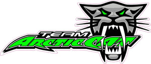 "Team Arctic Cat Decal - 7"" x 3"" 