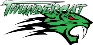 "Thundercat Green Decal - 7"" x 3"" 