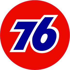 Union 76 Gasoline Decal - | Nostalgia Decals Online retro car decals, old school vinyl stickers for cars, racing graphics for cars, car decals for girls