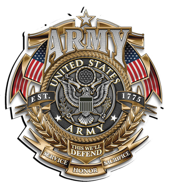 United States Army Service Honor Sacrifice Decal - 5