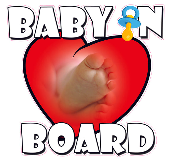 Baby on Board Decal sticker