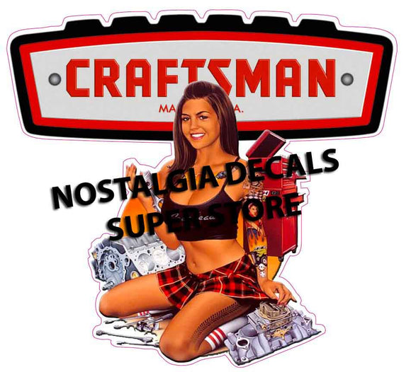 Craftsman Pin up Girl Version 2 5