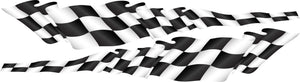 Waving Checkered flag stripe kit