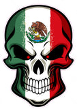 Mexican Skull Decal - | Nostalgia Decals Online retro car decals, old school vinyl stickers for cars, racing graphics for cars, car decals for girls