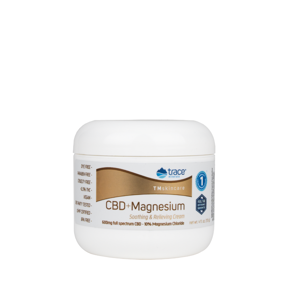 CBD + Magnesium Cream - Earth's Pure