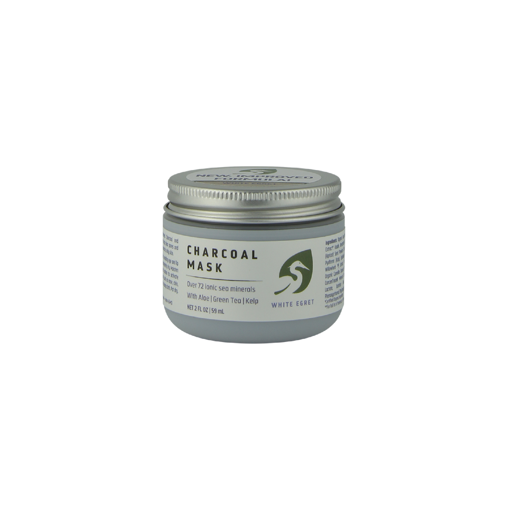 Charcoal Mask - 2 oz - Earth's Pure