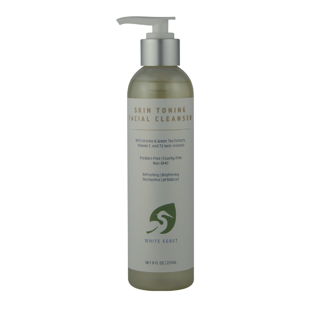 Skin Toning Facial Cleanser - 8 oz