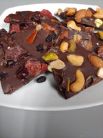 Load image into Gallery viewer, Vegan Dark Chocolate Bark - 4oz