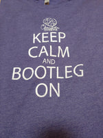 Load image into Gallery viewer, Keep Calm and Bootleg On T-shirt
