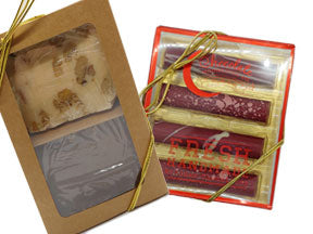 Combo Pack -1/2 lb fudge & 4pk Truffle Bars- Rated: 'E' for Everyone!