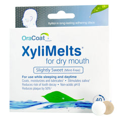 XyliMelts - Slightly Sweet/Mint-Free (Professional Case of 12 boxes @ 40 ea.)