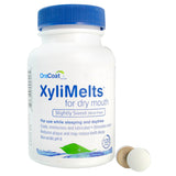 XyliMelts Oral Adhering Discs, Slightly Sweet, 120 Count (24 Count Case)