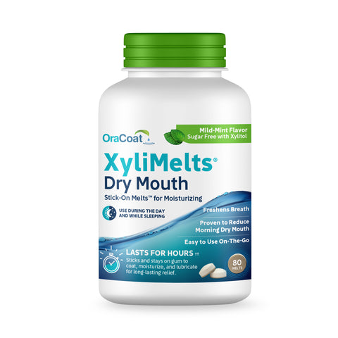 OraCoat XyliMelts Mild Mint, 80 Count