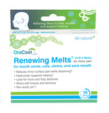 Renewing Melts (H-B12 Melts) for Mouth Sores - 3 boxes of 16 discs
