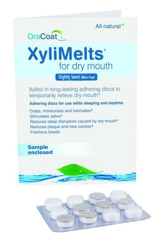 XyliMelts Sample Pack - Slightly Sweet/Mint-Free (12-ct.) (LIMIT ONE PER CUSTOMER, WITH PAID SHIPPING)