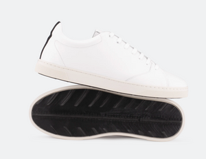 Gravière White Leather / Off-white sole