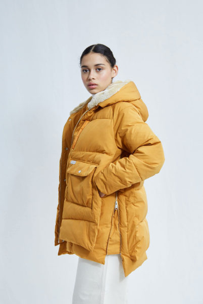 Jacke Lyndon Down Jacket inka gold