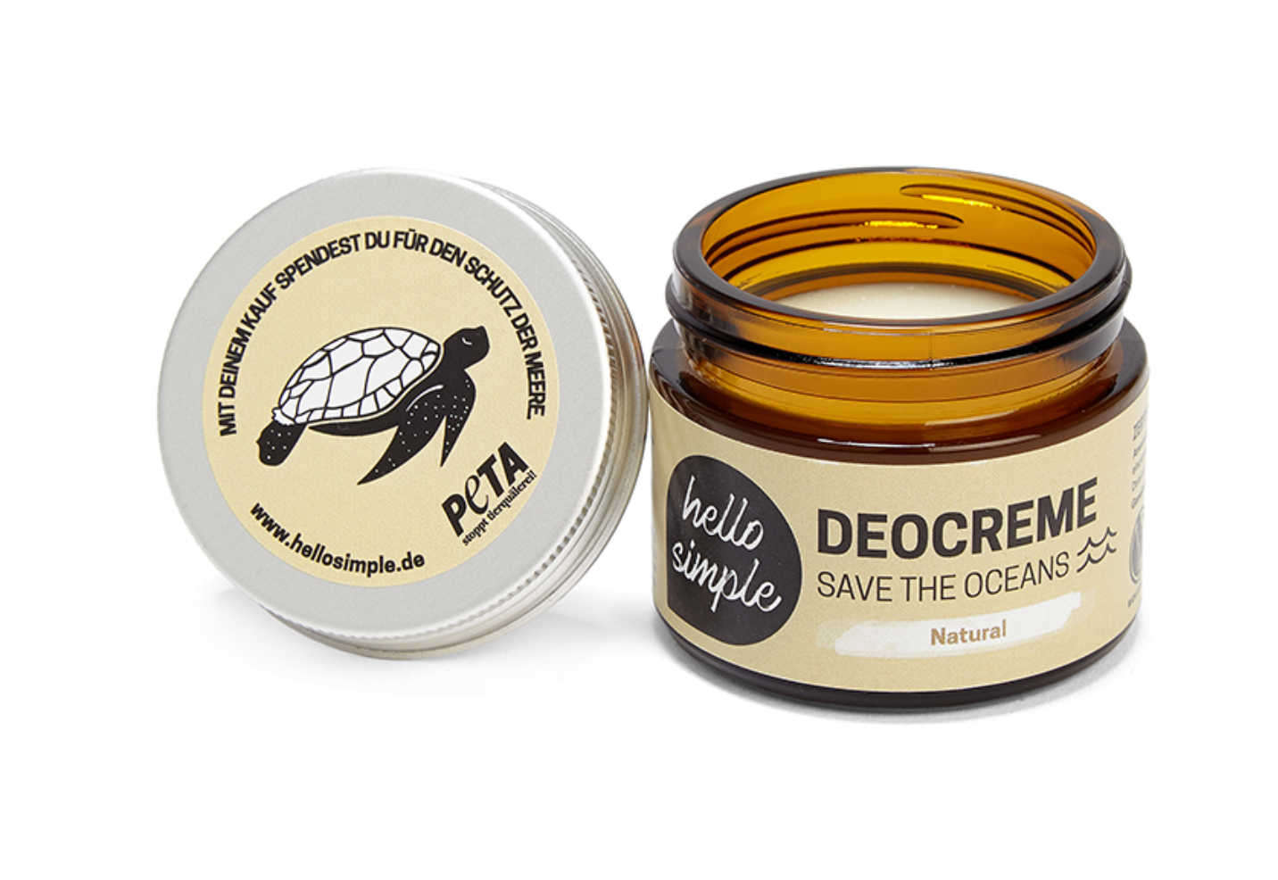 Deocreme - Save The Oceans - Natural