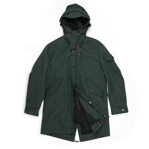 The Jacket forest green