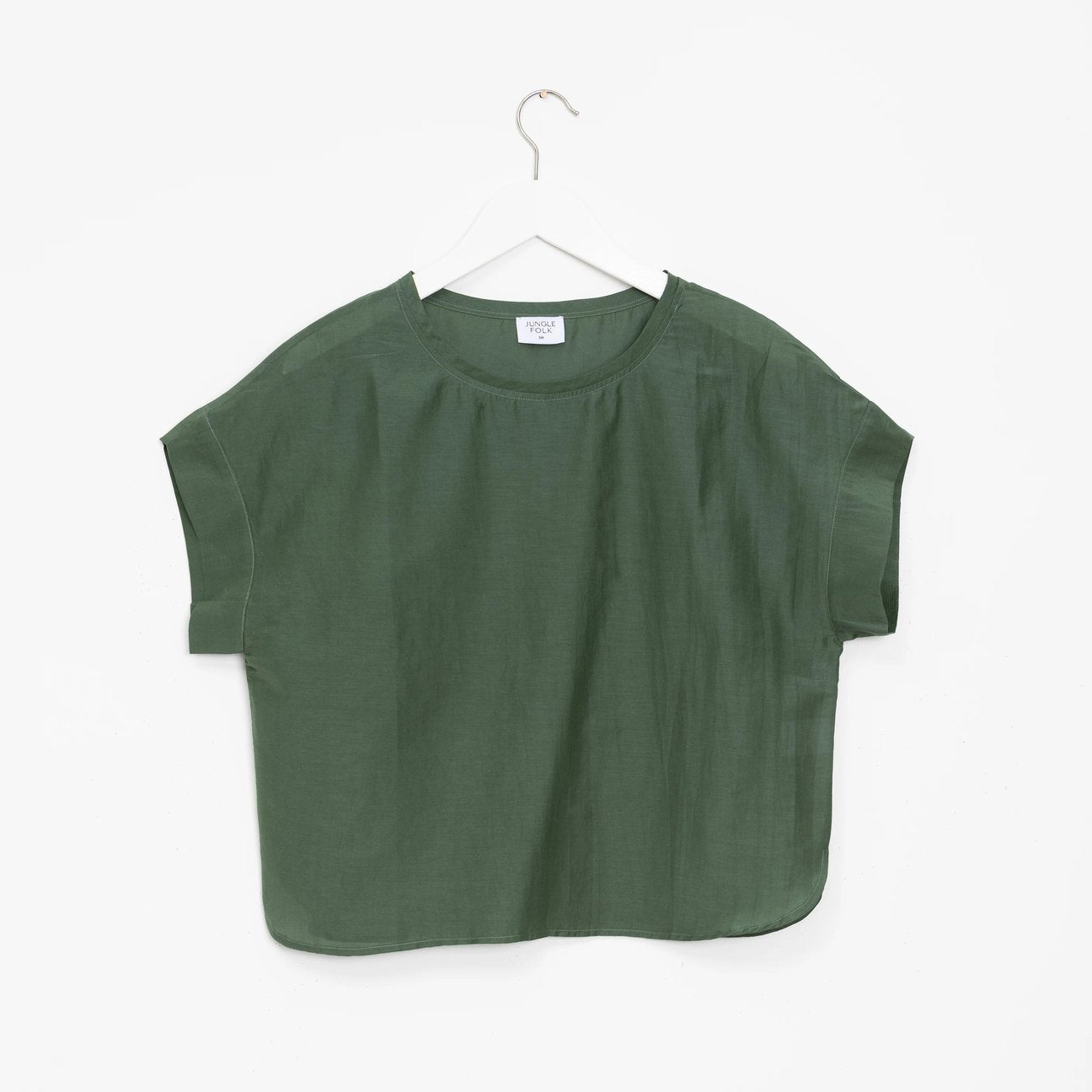 Bluse Emily pine green
