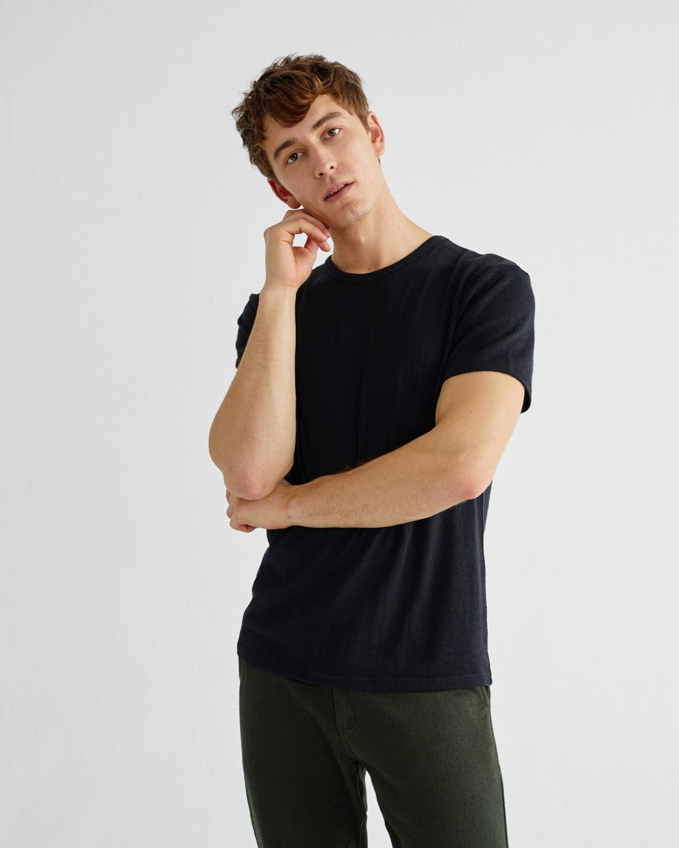 Basic Black Hemp Shirt