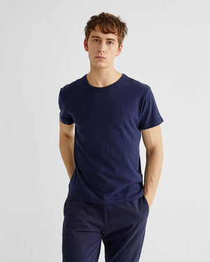 Basic Navy Hemp Shirt