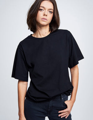 Boxy Tee #boden black cotton