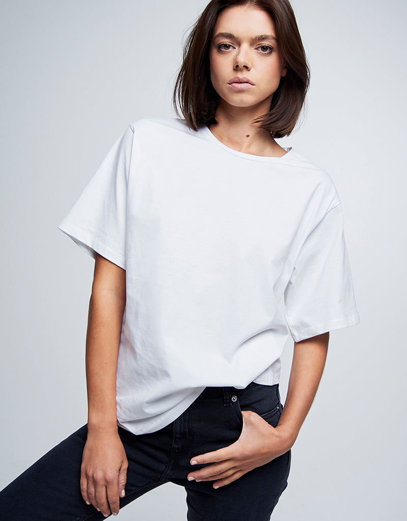 Boxy Tee #boden white cotton
