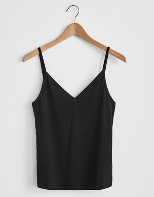 Camisole Top #chiem black cotton