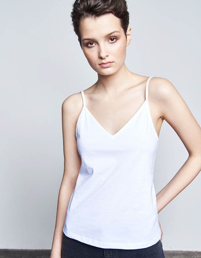 Camisole Top #chiem white cotton