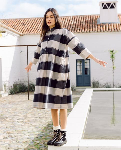 Kleid Marge Bold Check