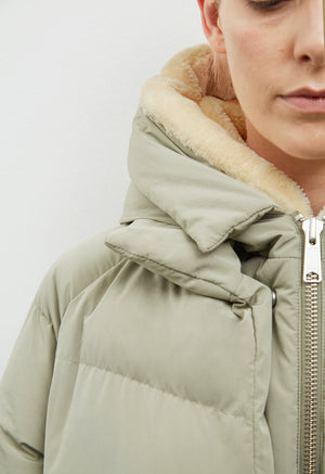 Jacke Lyndon Down Jacket pale olive