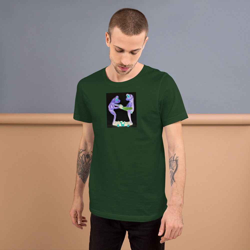 Frog Surprise Short-Sleeve Unisex T-Shirt / Created by Bryan Ameigh