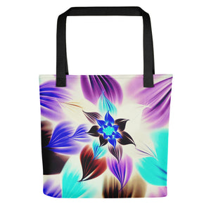 Electric Flower Tote bag / Artist - Bryan Ameigh